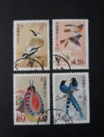 N° 3971 à 3973 Et 3983       Oiseaux - Oblitérés