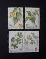 N° 765 à 768         Arbustes à Fleurs -  Oblitérés - Christmas Island