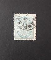 N° 34      2 ö  -  Bleu - 1851-63 (Frederik VII)