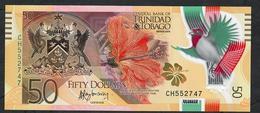 TRINIDAD & TOBAG0  P54 50  DOLLAR 2014  COMMEMORATIVE    UNC. - Trinidad & Tobago