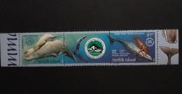 N° 755 Et 756       Cachalot  -   Paire + 2  Vignette  -  Neufs - Norfolk Island