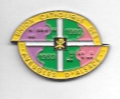 Pin's  Association  UNION  CATHOLIQUE  DES  AVEUGLES  D' ALSACE - Associations