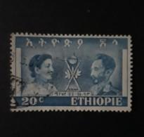 N° 269       Impératrice Menen Et Empereur Haïlé Sélassié 1er   -  Oblitéré - Ethiopia