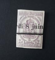 N° 1       2 C. Lilas  -  Non-dentelé  -  Oblitéré - Newspapers