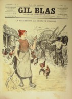 GIL BLAS-1900/14-GUSTAVE COQUIOT-J.MEROT-BOULAY LAYRICE-F.PAYEN - Books, Magazines, Comics