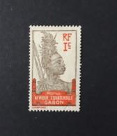 N° 33       Guerrier  -  1 C.  Brun-lilas Et Rouge-orange - Gebruikt