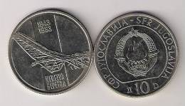 Yugoslavia 10 Dinara 1983. KM#96  40th Anniversary  Battle Of Neretva - Yugoslavia