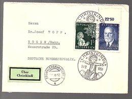 1953 CHRIISTKIND (537) - 1945-60 Briefe U. Dokumente