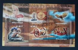 N° 4519 à 4524       Les Inventions De Léonard De Vinci  -  Oblitéré - Mozambique