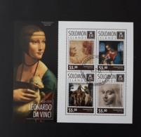 N° 2492 à 2495       Léonard De Vinci  -  Oblitéré - Solomoneilanden (1978-...)