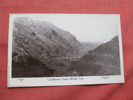 Lanndikhana Camp PAKISTAN. KHYBER PASS Ref  3481 - Pakistan