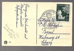 1953 CHRIISTKIND (537a) - 1945-60 Briefe U. Dokumente
