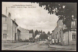 CORRE: Vue Animée à L'entrée Du Village, Carte Voyagée En FM (voir Au Verso) Le 19/11/1917 - Francia