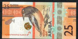 ARUBA NLP 25 FLORIN 2019 UNC. - Aruba (1986-...)