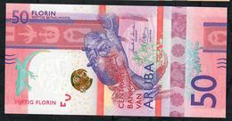 ARUBA NLP 50 FLORIN 2019 UNC. - Aruba (1986-...)