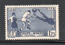 YT 396 NEUF ** - Côte 35 € - Très Beau Timbre - Gomme Impeccable - Coupe Du Monde Football - - France
