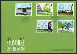 2016 Isle Of Man FDC / I.O.M. First Day Cover. Biosphere - Isle Of Man