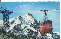 * CHAMONIX   (  HAUTE-SAVOIE   ) TÉLÉPHÉRIQUE DE L 'AIGUILLE DU MIDI - Chamonix-Mont-Blanc