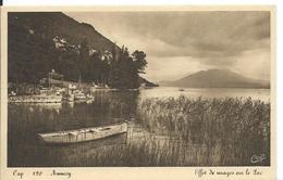 * ANNECY    (  HAUTE-SAVOIE   ) EFFET DE NUAGE SUR LE LAC - Annecy