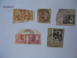 Tunisie Lot De Timbres, Oblitération choisies DeEddekhila    Voir Scan - Tunisia (1888-1955)