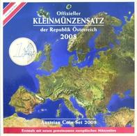 0524 - COFFRET BU AUTRICHE - 2008 - 1 Cent à 2 Euros - Autriche
