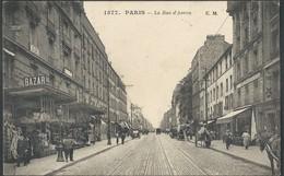 CPA Paris Rue D'Avron - Squares