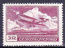 * Tchécoslovaquie 1930 Mi 306 (Yv PA 13), (MH) Type I, Trace De Charniere - Czechoslovakia