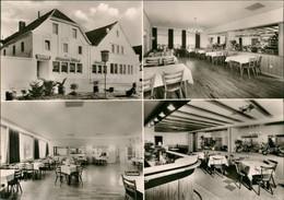 Ansichtskarte Zündorf-Köln Gasthaus WILLI KELLER 4 Bild Porz 1963 - Koeln