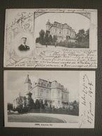 2 Postkarten 1902-03 - Bonn - Kaiserliche Kronprinzliche Villa Wilhelm - Bonn
