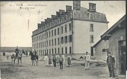 CPA Reims Caserne Des Hussards Quartier Mars - Reims