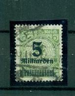 Deutsches Reich, Neuer Wert Auf D.- Reich-Marke, Nr. 333 Gestempelt - Used Stamps