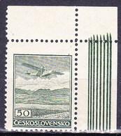 * Tchécoslovaquie 1930 Mi 303 (Yv PA 10), (MH) Type I, Trace De Charniere - Czechoslovakia