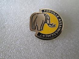 PIN'S   ELEPHANT   FORVILLE ASSAINISSEMENT - Animals