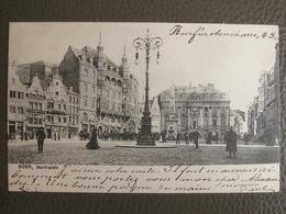 Postkarte 1903 - Bonn - Marktplatz - Bonn