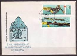 DDR , FDC , 1985 , Mi.Nr. 2961 , 2962 - DDR