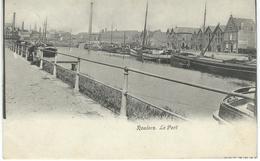 ROULERS - ROESELARE : Le Port - Cachet De La Poste 1906 - Roeselare