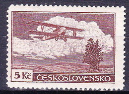 * Tchécoslovaquie 1930 Mi 308 (Yv PA 15), (MH) Trace De Charniere - Czechoslovakia