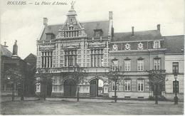 ROULERS - ROESELARE : La Place D'Armes - Cachet De La Poste 1906 - Roeselare