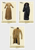 H01 Malta 2019 Euromed Postal - 'Traditional Costumes' MNH Postfrisch - Malte (Ordre De)