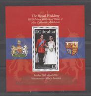 Mariage Princier - Prince William - Gibraltar