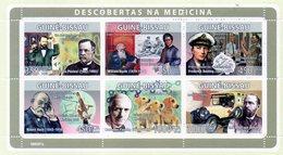2008 Guinea Bissau - Scoperta Della Medicina - Medicine