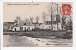 CPA 56 MONTERTELOT Vue Du Canal - France