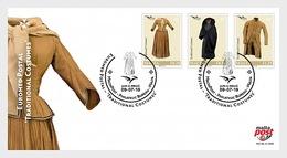 H01 Malta 2019 Euromed Postal - 'Traditional Costumes' FDC - Malta (Orden Von)