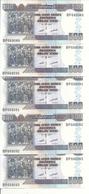 BURUNDI 500 FRANCS 2011 UNC P 45 ( 5 Billets ) - Burundi