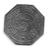 Notgeld Gardelegen 5 Pfennig  ND Zn 4666.3 / F151.2 - [ 2] 1871-1918 : Empire Allemand