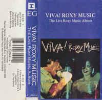Roxy Music- Viva! Live - Cassettes Audio