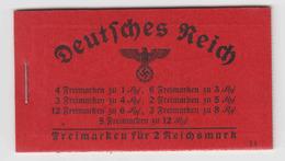 DR Markenheftchen MH 39.1 ** - Hindenburg 1940 - Markenheftchen