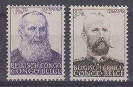 Belgisch Congo 1951 Strijd Tegen De Slavenhanel 2v ** Mnh (43477) - Belgisch-Kongo