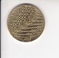 Jeton Médaille Monnaie De Paris MDp Grotte La Cocalière  2015 - Monnaie De Paris