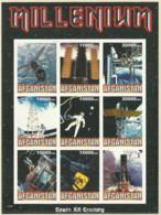 MILLENIUM - Mint Miniature Sheet -SPACE - Fantasy Labels